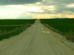 Az új út Várpalota előtt