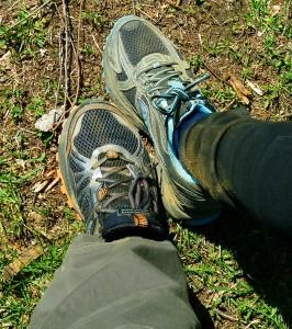 Terepfutó cipők - futás nélkül