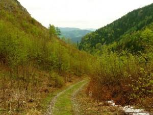 Annaberg után keskeny völgy következik