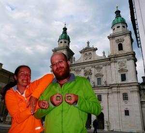 1000 km - Salzburg!