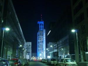 Sankt Pölten éjjel - kormányzati negyed