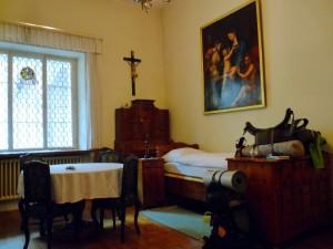 Szent Péter kolostor - vendégszoba