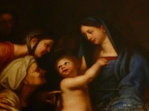 Szent Péter kolostor - festmény a vendégszobában