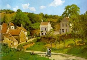 Pissarro - A remetelak Pontoise-ban