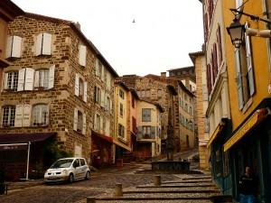 A Via Podiensis Le Puy óvárosában