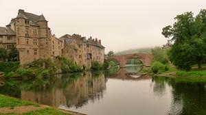 Espalion - középkori vár és híd