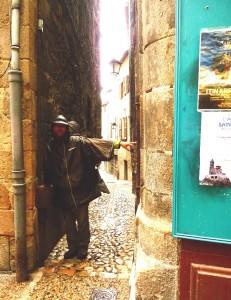 Sikátor az óvárosban Le-Puyben