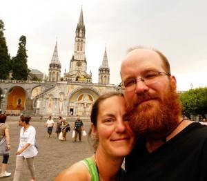 A bazilika Lourdes-ban