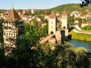 Pont Valentré - az ördög hídja