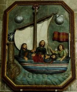 Az apostol holttestét szállító hajó