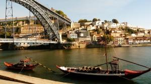 Portó belvárosa - a Douro folyó