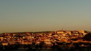 Coimbra látképe