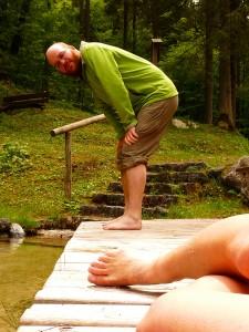 Túlhevült lábakat érdemes a kezelés előtt lehűteni
