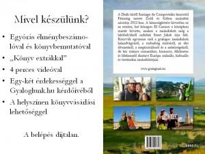 Gyaloglunk.hu - Zsófi és Gábor könyvbemutató - 2014 December 20.